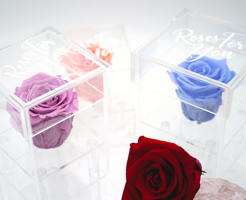 Roses for You preserved roses